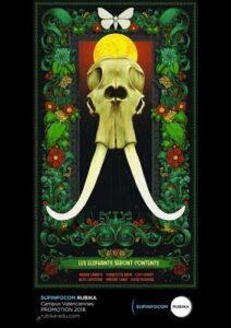 The Elephants Will Be Happy, de Lucas Roussel, Charlotte Brun, Loïc Frimat, Vincent Labis, Adrien Lannoy, Alice Lepoutre – Selecção Ensaios (2019)