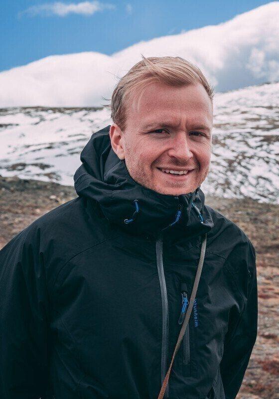 Retrato de Mattis Ohana Goksøyr